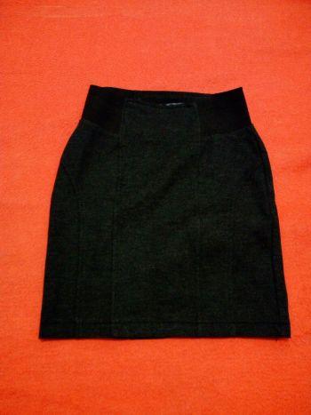 Foto Carousel Producto: Falda de lapiz gris GoTrendier