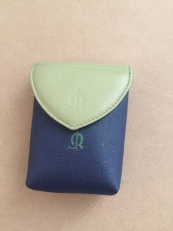 Foto Carousel Producto: Mini bolso azul con verde GoTrendier