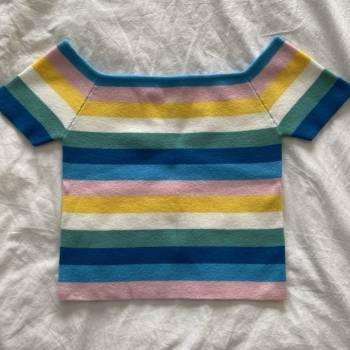 Foto Carousel Producto: Blusa arcoiris forever 21 GoTrendier