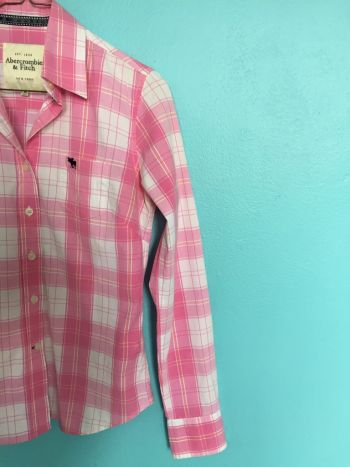 Foto Carousel Producto: Camisa Rosa cuadros GoTrendier
