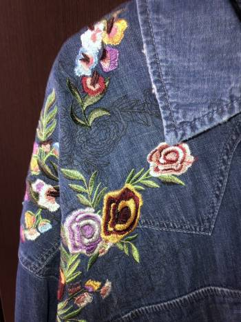 Foto Carousel Producto: Blusa de mezclilla nueva GoTrendier