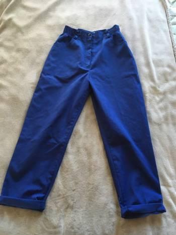 Foto Carousel Producto: Pantalon vintage tailoring azul GoTrendier
