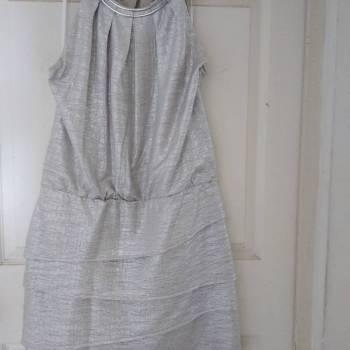 Foto Carousel Producto: Vestido fiesta plata GoTrendier