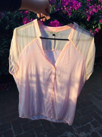 Foto Carousel Producto: Blusa rosa con transparencia GoTrendier