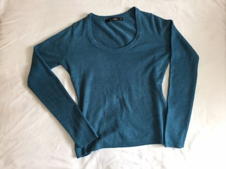 Foto Carousel Producto: Sueter azul manga larga GoTrendier
