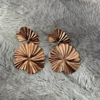 Foto Carousel Producto: Aretes rose gold GoTrendier