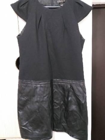 Foto Carousel Producto: Vestido algodón y piel GoTrendier