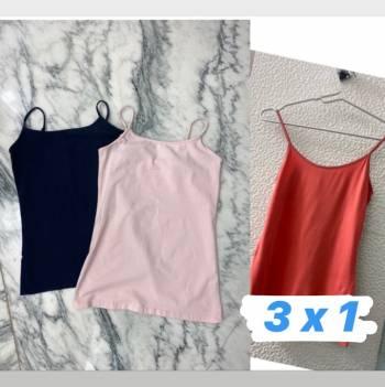 Foto Carousel Producto: 3x1 blusas interiores  GoTrendier