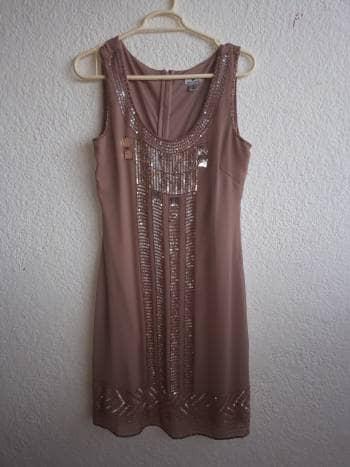 Foto Carousel Producto: Vestido color palo de rosa de fiesta graduacion GoTrendier