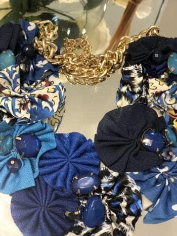 Foto Carousel Producto: Collar azul GoTrendier