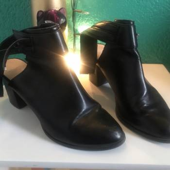 Foto Carousel Producto: Botines abiertos PULL AND BEAR  GoTrendier