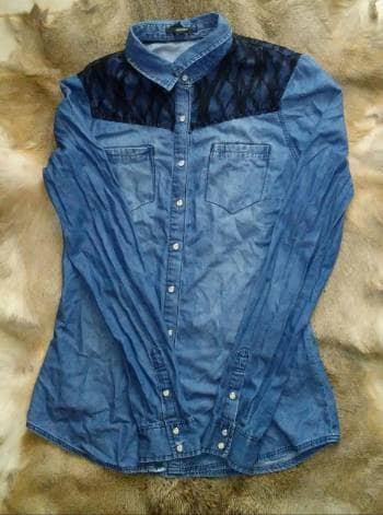 Foto Carousel Producto: Camisa de mezclilla 2x1 GoTrendier