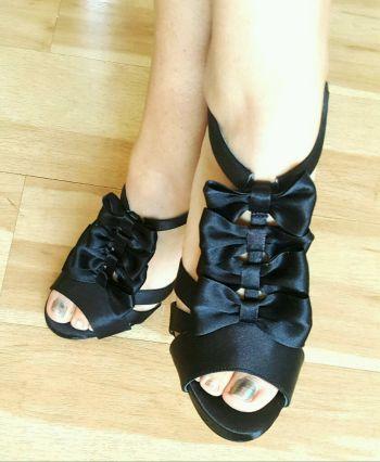 Foto Carousel Producto: Zapatillas de satin GoTrendier