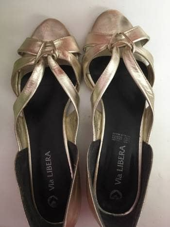 Foto Carousel Producto: Flats dorado GoTrendier
